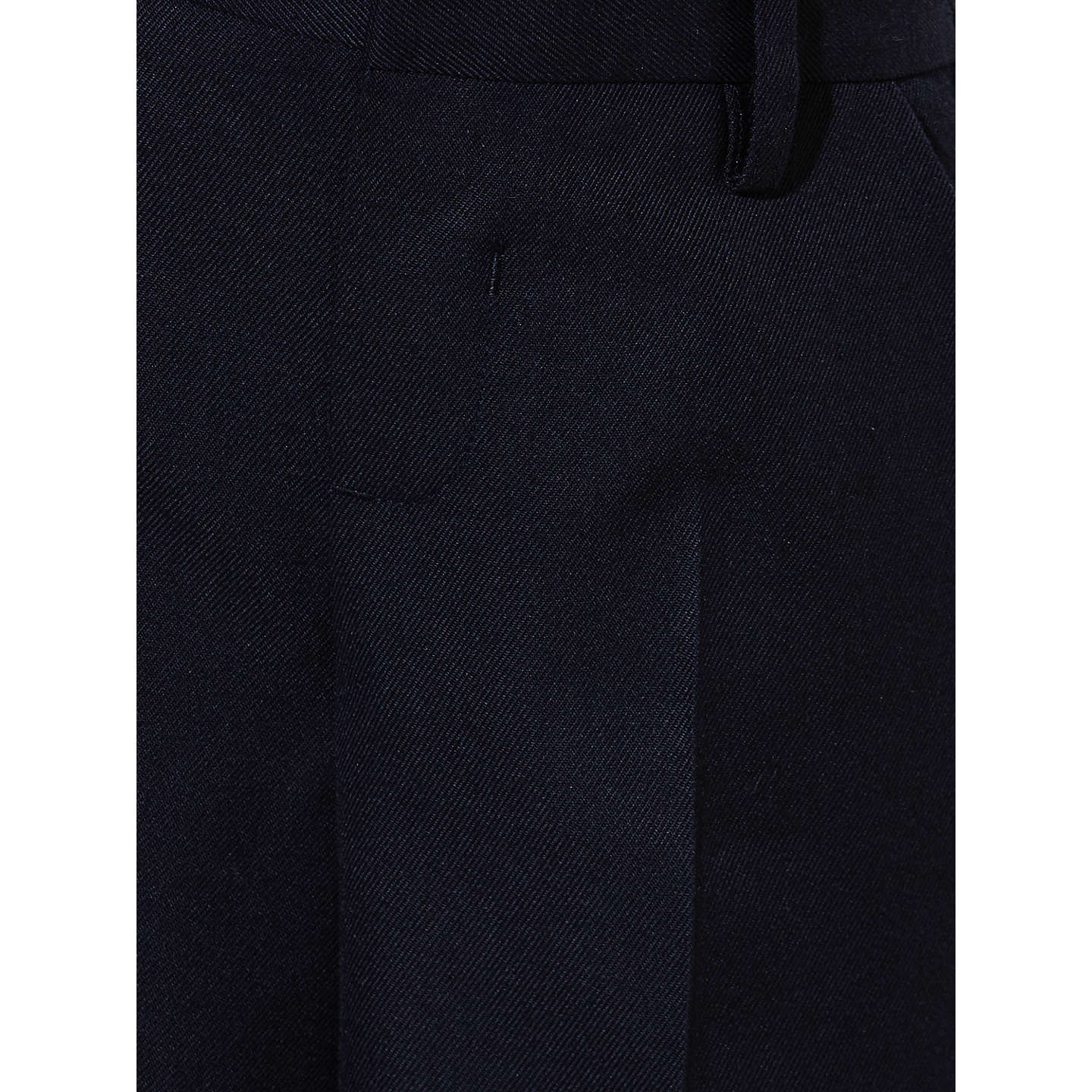 BuyJohn Lewis Boys' Easy Care Bermuda Length School Shorts, Navy, 4 years Online at johnlewis.com