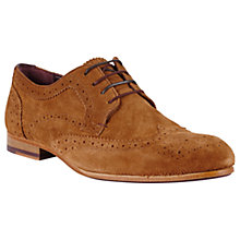 Buy Ted Baker Granet Ox Brogues, Tan Online at johnlewis.com