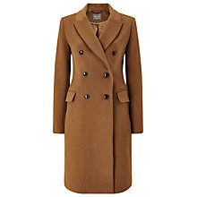 Buy Phase Eight Caterina Coat, Camel Online at johnlewis.com