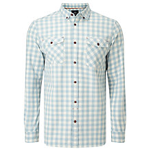 Buy John Lewis Jaspe Gingham Shirt Online at johnlewis.com