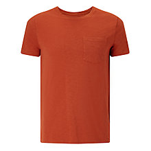 Buy JOHN LEWIS & Co. Vintage Slub Pocket T-Shirt Online at johnlewis.com