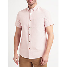 Buy John Lewis Oxford Stripe Short Sleeve Shirt Online at johnlewis.com