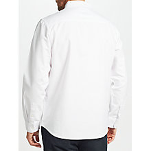 Buy John Lewis Laundered Cotton Oxford Shirt Online at johnlewis.com