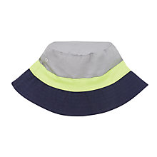 Buy John Lewis Children's Colour Block Bucket Hat Online at johnlewis.com