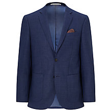 Buy John Lewis Basketweave Tailored Blazer, Indigo Online at johnlewis.com