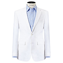 Buy John Lewis Linen Regular Fit Suit Jacket, White Online at johnlewis.com