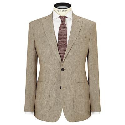 JOHN LEWIS & Co. Benstock Pure Linen Tailored Blazer, Neutral