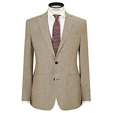 Buy JOHN LEWIS & Co. Benstock Pure Linen Tailored Blazer, Neutral Online at johnlewis.com