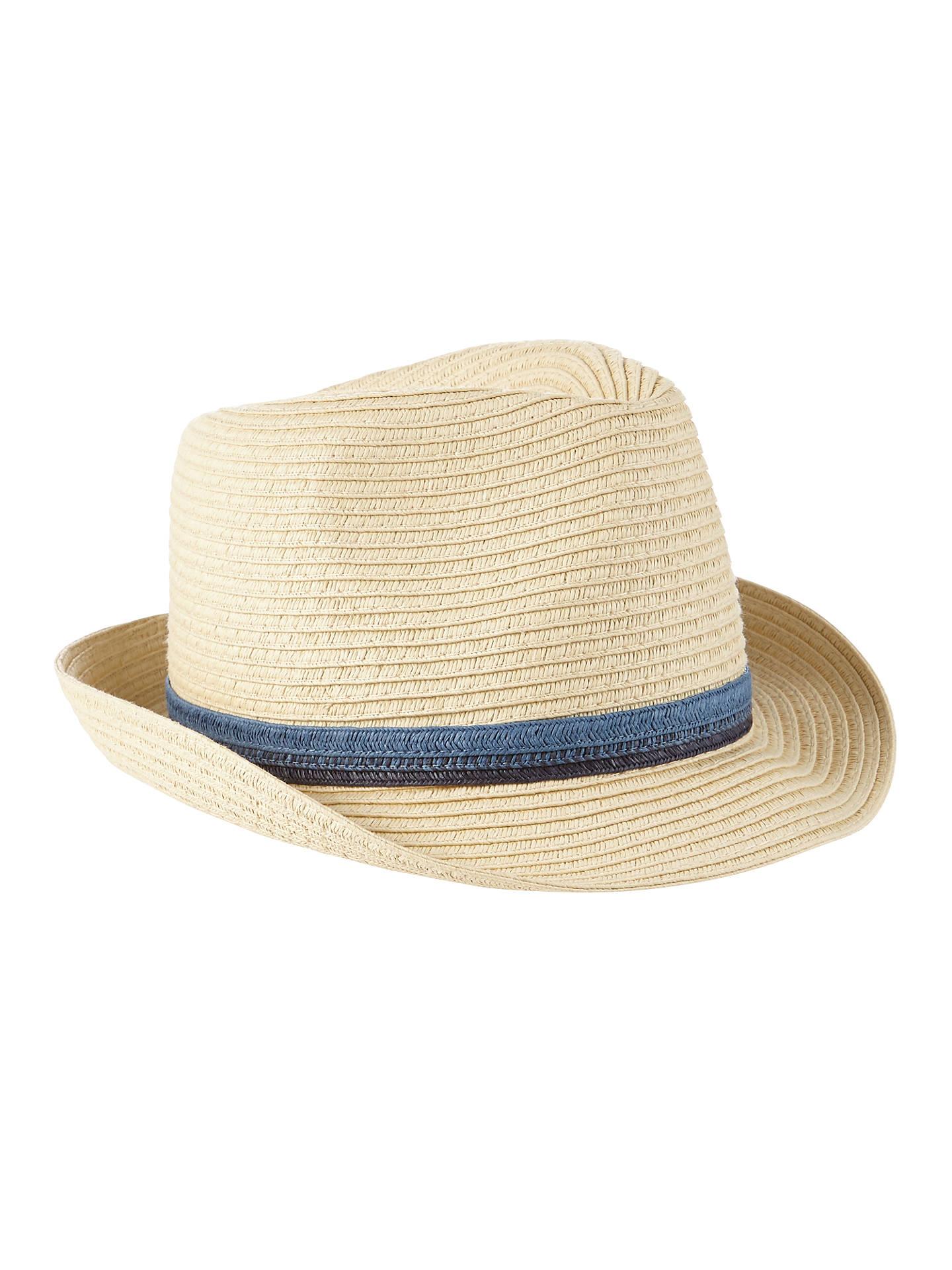 5ac2a6cc718c4 Buy John Lewis Children s Straw Trilby Hat