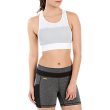 Buy Lolë Pascalyne Yoga Bra Top, White Online at johnlewis.com