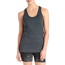 Buy Lolë Shantal Yoga Tank Top, Black Heather Online at johnlewis.com