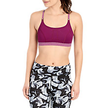 Buy Lolë Alpine Sports Bra, Plum Online at johnlewis.com