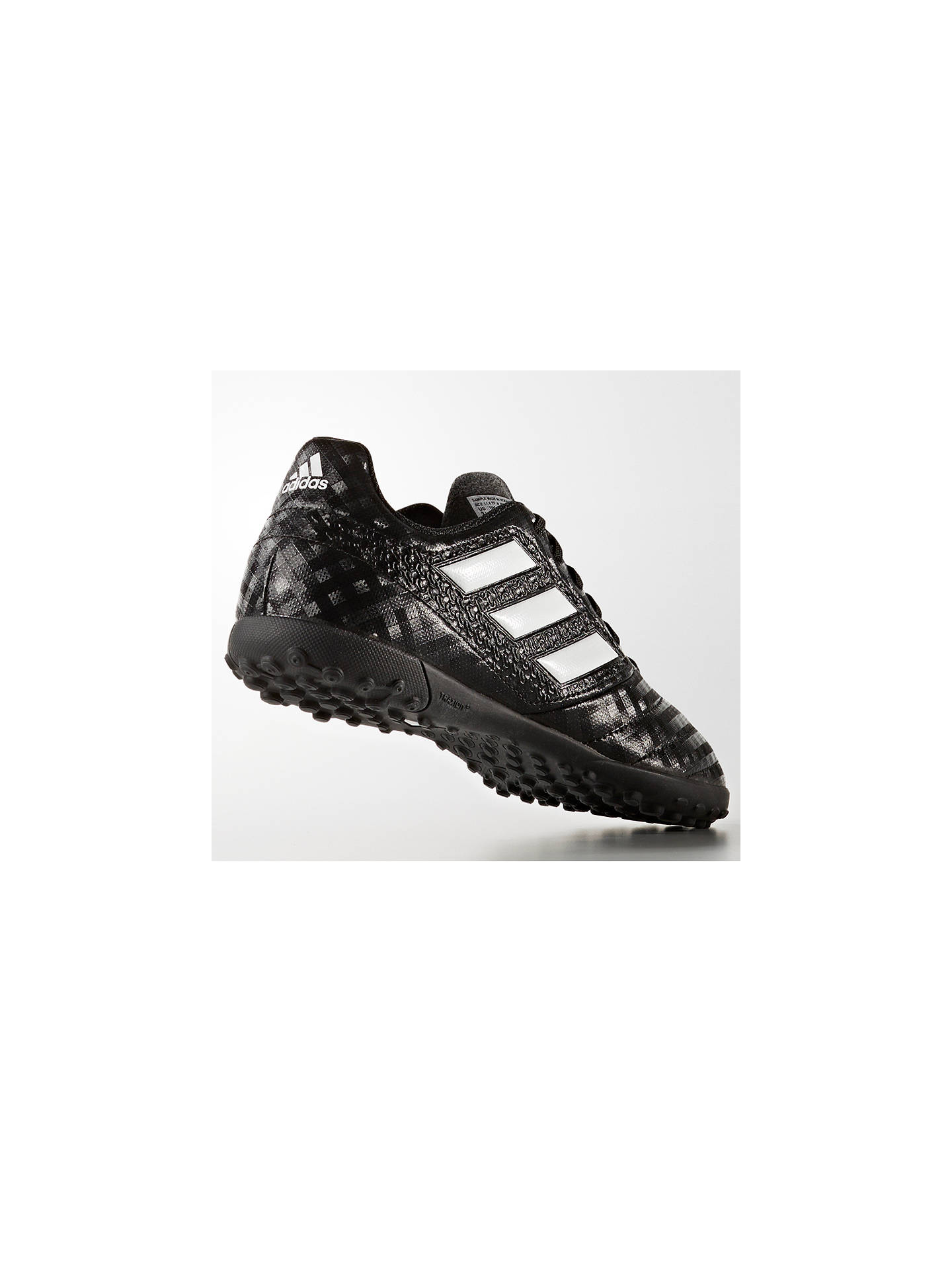 new products ed448 d4d64 adidas Children's Ace 17.4 TF Football Boots, Black at John ...
