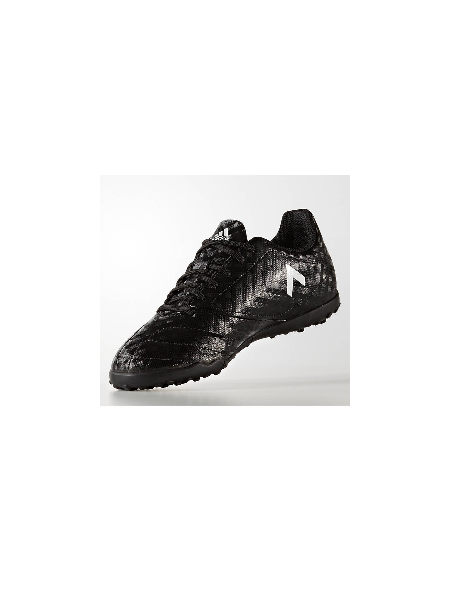 new products 0fceb fa7bb adidas Children's Ace 17.4 TF Football Boots, Black at John ...