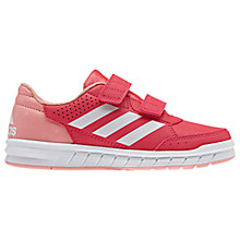 Buy Adidas Children's Alta Sport CF Rip Tape Trainers Online at johnlewis.com
