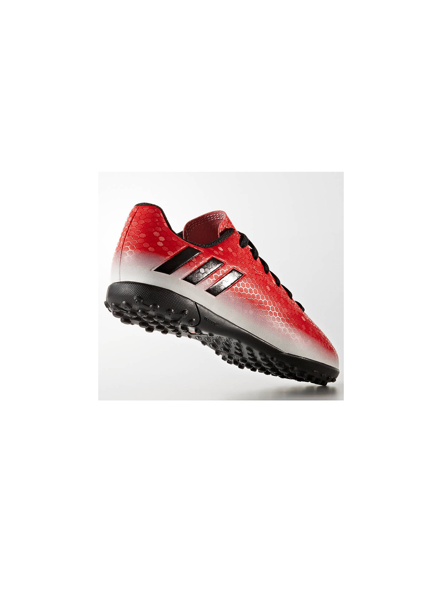 Buy adidas Children's Messi 16.4 TF Trainers, Red/White, 10 Jnr Online at johnlewis.com