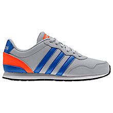 Buy Adidas Children's V Jog Running Shoes Online at johnlewis.com