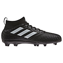 Buy Adidas Children's Ace 17.3 FG Football Boots, Black Online at johnlewis.com