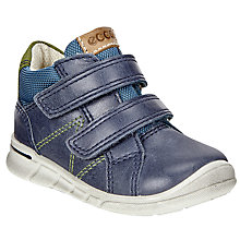 Buy ECCO Children's First Shoe, Blue Online at johnlewis.com