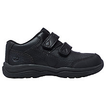 Buy Timberland Children's Woodman Park HL Oxford Shoes, Black Online at johnlewis.com