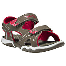Buy Timberland Children's Adventure Seeker Rip-Tape Sandals Online at johnlewis.com