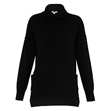 Buy Whistles Cashmere Pocket Funnel Neck Jumper Online at johnlewis.com