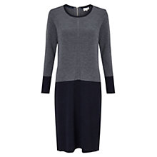 Buy East Colourblock Milano Dress, Flint Online at johnlewis.com