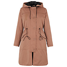 Buy Whistles Jensen Hooded Parka, Nude Online at johnlewis.com