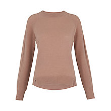 Buy Whistles Ribbed Sleeve Cashmere Jumper Online at johnlewis.com