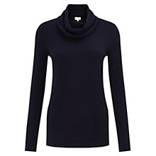 Buy East Roll Neck Jumper, Sapphire Online at johnlewis.com