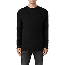 Buy AllSaints Ektarr Crew Jumper Online at johnlewis.com