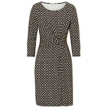 Buy Betty Barclay Printed Jersey Dress, Black/Cream Online at johnlewis.com