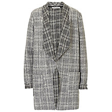 Buy Betty Barclay Unlined Check Jacket, Grey Online at johnlewis.com