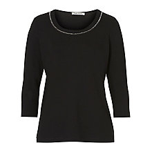 Buy Betty Barclay Embellished T-Shirt, Black Online at johnlewis.com