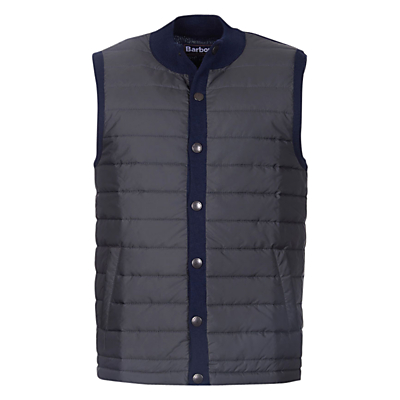 Barbour Baffle Quilted Gilet, Navy