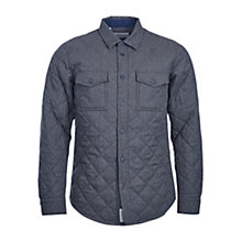 Buy Barbour Huldra Overshirt, Charcoal Online at johnlewis.com