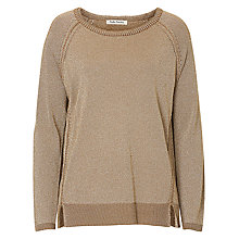 Buy Betty Barclay Fine Metallic Knit Jumper, Dark Brass Online at johnlewis.com