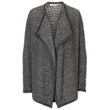 Buy Betty Barclay Textured Waterfall Cardigan, Grey Melange Online at johnlewis.com