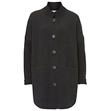 Buy Betty Barclay Long Knitted Cardigan, Anthracite Melange Online at johnlewis.com
