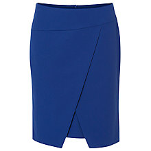 Buy Betty Barclay Wrapped Pencil Skirt, Blue Online at johnlewis.com