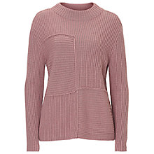 Buy Betty Barclay Ribbed Crew Neck Jumper, Iced Rose Online at johnlewis.com
