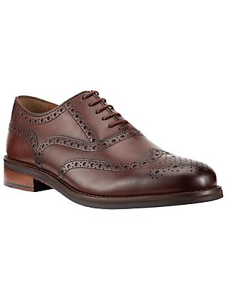 John Lewis & Partners Bentley Leather Lace-Up Brogues