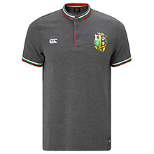 Buy Canterbury of New Zealand British and Irish Lions Rugby Tipped Polo Shirt, Grey Online at johnlewis.com
