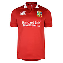 Buy Canterbury of New Zealand British and Irish Lions Match Day Pro Rugby Shirt, Red Online at johnlewis.com