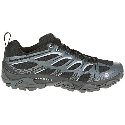 Merrell Moab Edge Men's Walking Shoes, Black/Grey