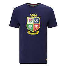 Buy Canterbury of New Zealand British and Irish Lions Rugby T-Shirt, Navy Online at johnlewis.com