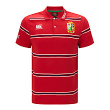 Buy Canterbury of New Zealand British and Irish Lions Rugby Polo Shirt, Red Online at johnlewis.com