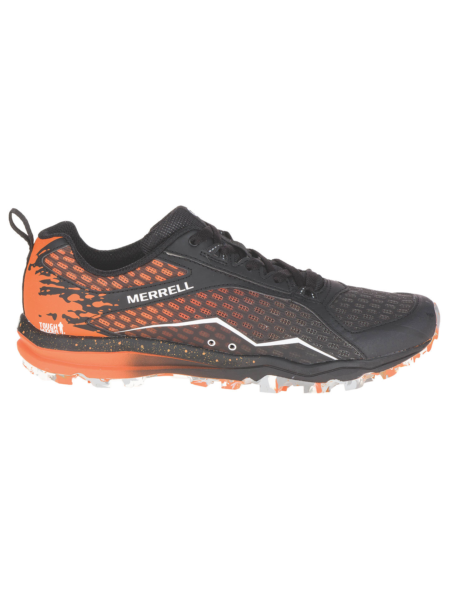 3ae8c08489 Buy Merrell All Out Crush Tough Mudder Men's Trail Running Shoes,  Black/Orange, ...