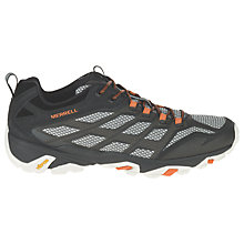 Buy Merrell Moab FST Men's Walking Shoes, Black Online at johnlewis.com