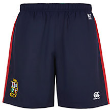 Buy Canterbury of New Zealand British and Irish Lions Woven Gym Shorts, Navy Online at johnlewis.com